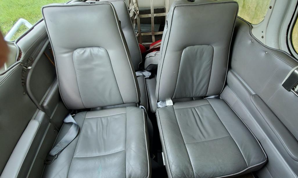 Baron E55 interior