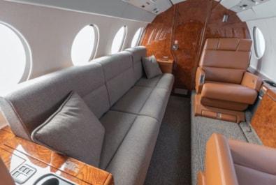 2000 Falcon 50EX - interior