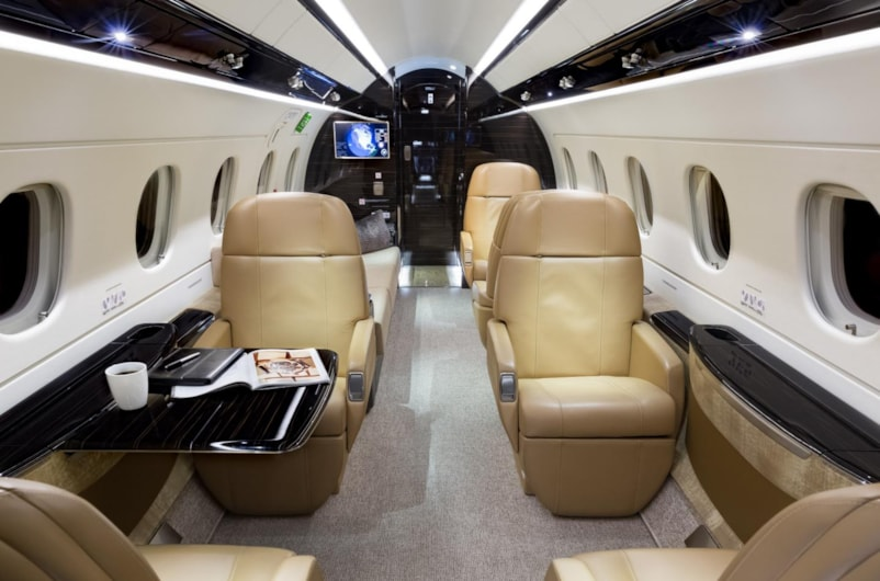 Private jet for sale charter: 2018 Embraer Legacy 500 super-midsize jet
