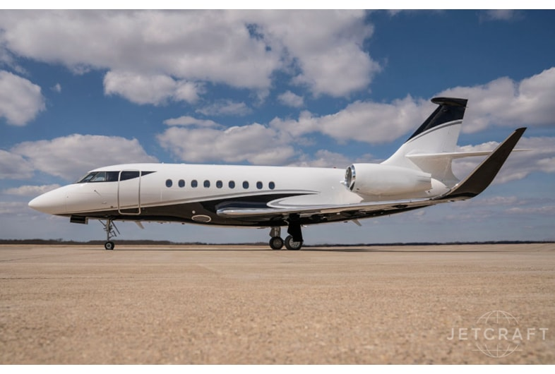 Private jet for sale charter: 2006 Dassault Falcon 2000EX EASy heavy jet