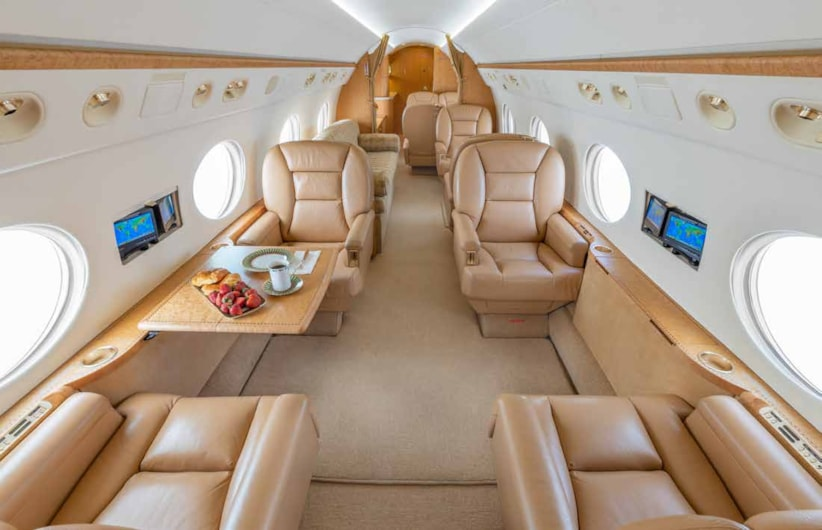 Private jet for sale charter: 2005 Gulfstream G550 heavy jet