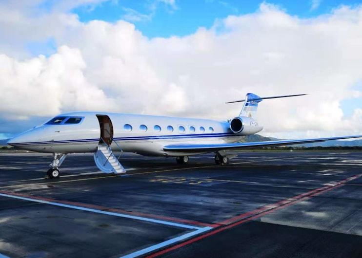 Private jet for sale charter: 2018 Gulfstream G650ER long range heavy jet