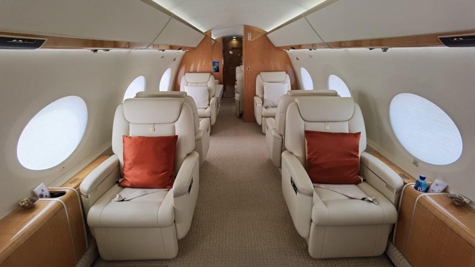 Private jet for sale charter: 2018 Gulfstream G650ER long-range heavy jet