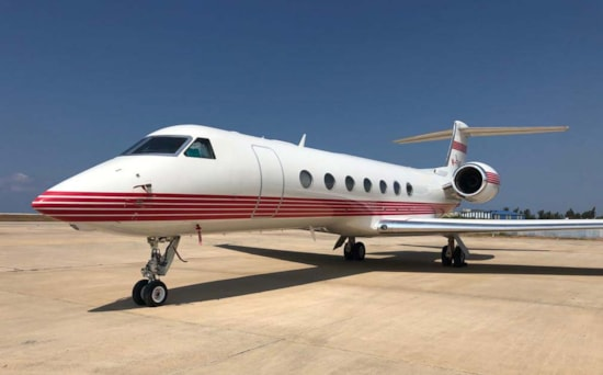 Aircraft Listing - Gulfstream G550 listed for sale