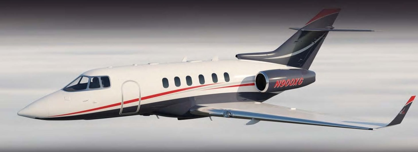 Private jet for sale charter: 2008 Hawker 900XP midsize jet