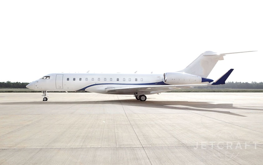 Private jet for sale charter: 2017 Bombardier Global 6000 long-range heavy jet