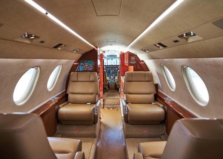 Private jet for sale charter: 1997 Dassault Falcon 50EX super-midsize jet