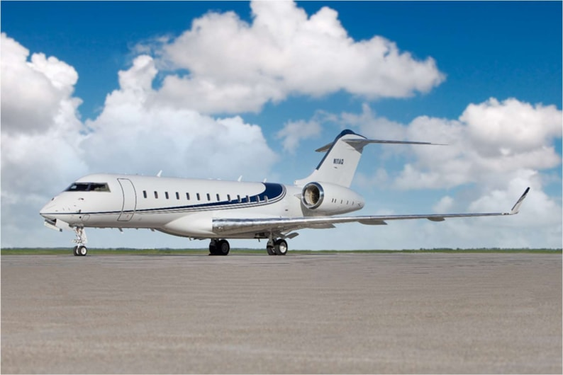Private jet for sale charter: 2007 Bombardier Global XRS heavy jet