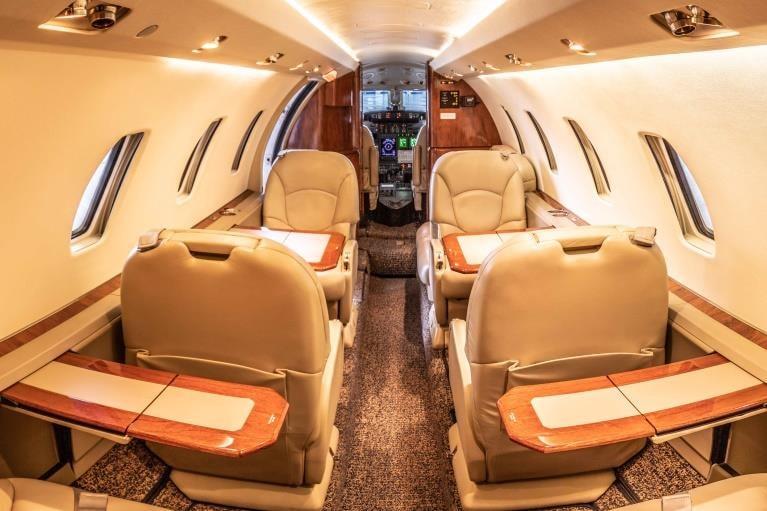Private jet for sale charter: 2000 Cessna Citation Excel midsize jet