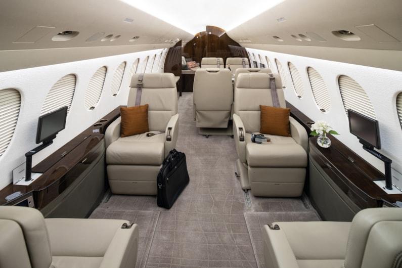 Private jet for sale charter: 2013 Dassault Falcon 7X heavy jet
