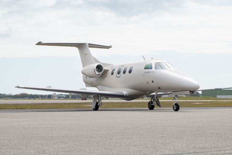 Private jet for sale charter: 2018 Embraer Phenom 100EV very light jet