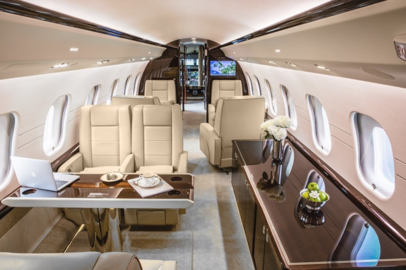 Private jet for sale charter: 2014 Bombardier Global 6000 heavy jet