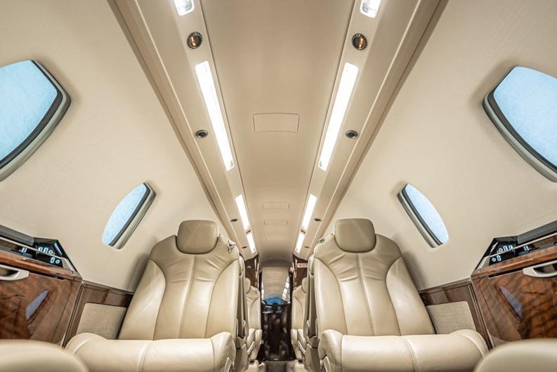 Private jet for sale charter: 2014 Cessna Citation Sovereign+ super-midsize jet