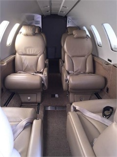 Citation Bravo interior