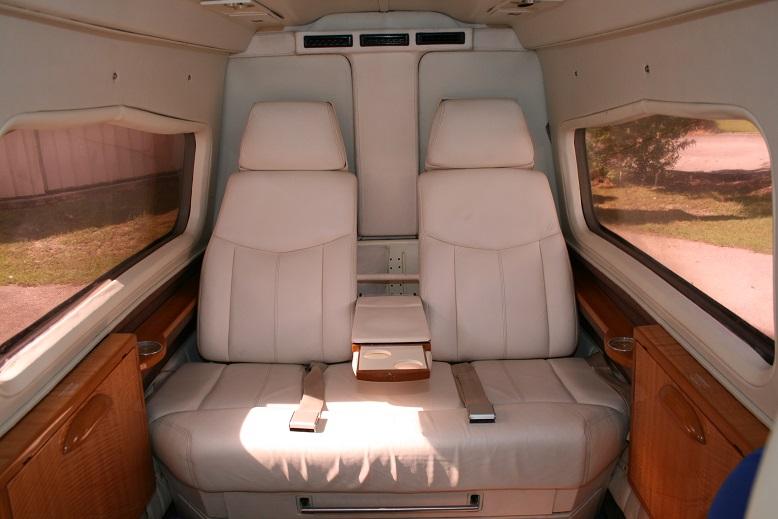 Twin Commander 690B interior