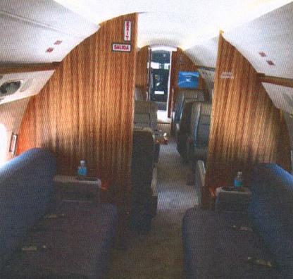 Gulfstream G550 interior