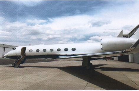 Gulfstream G550 for sale.