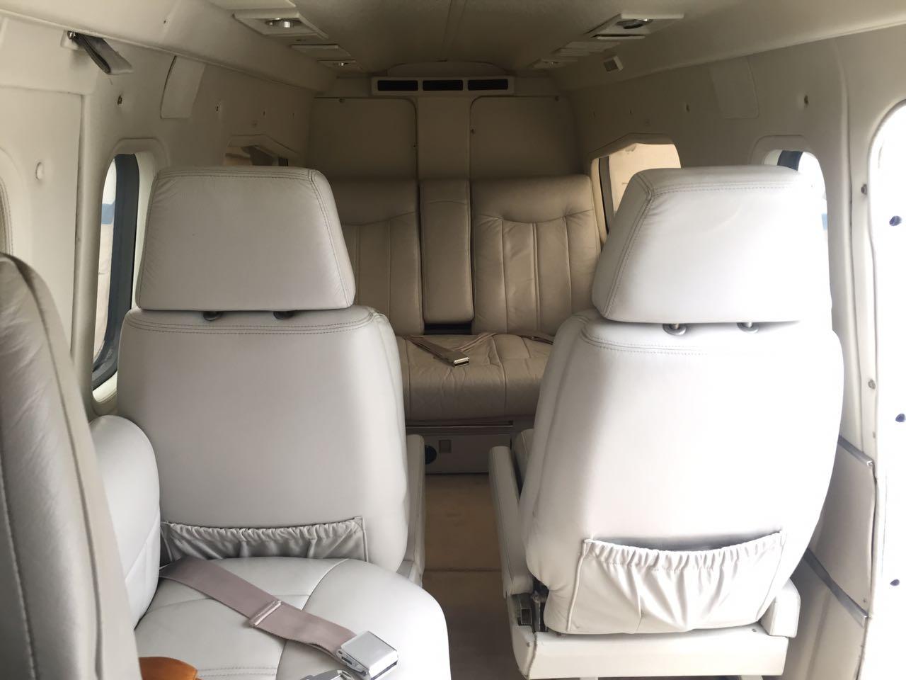 Twin Commander 690A interior