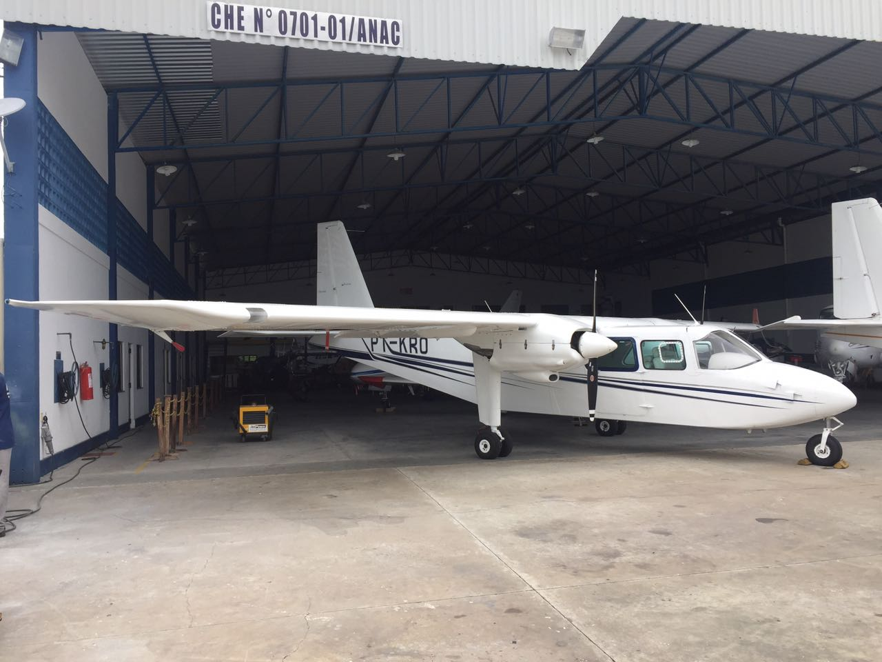Islander BN-2A exterior