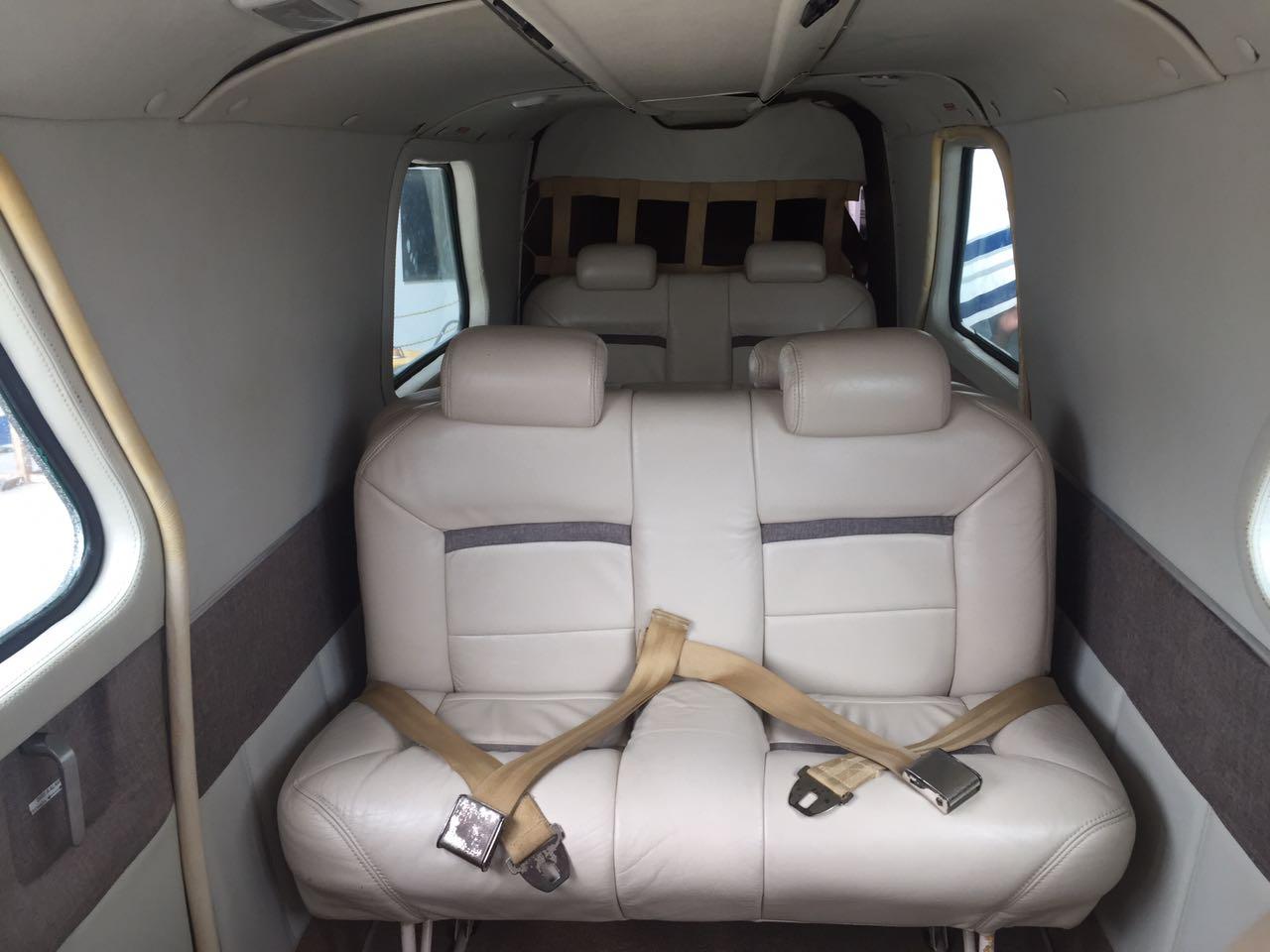 Islander BN-2A interior