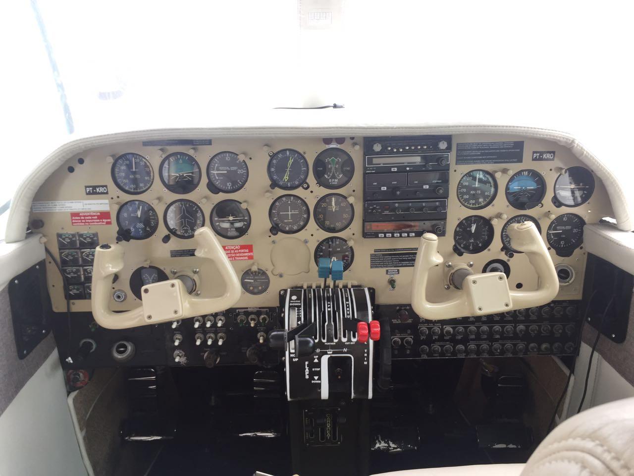 Islander BN-2A panel
