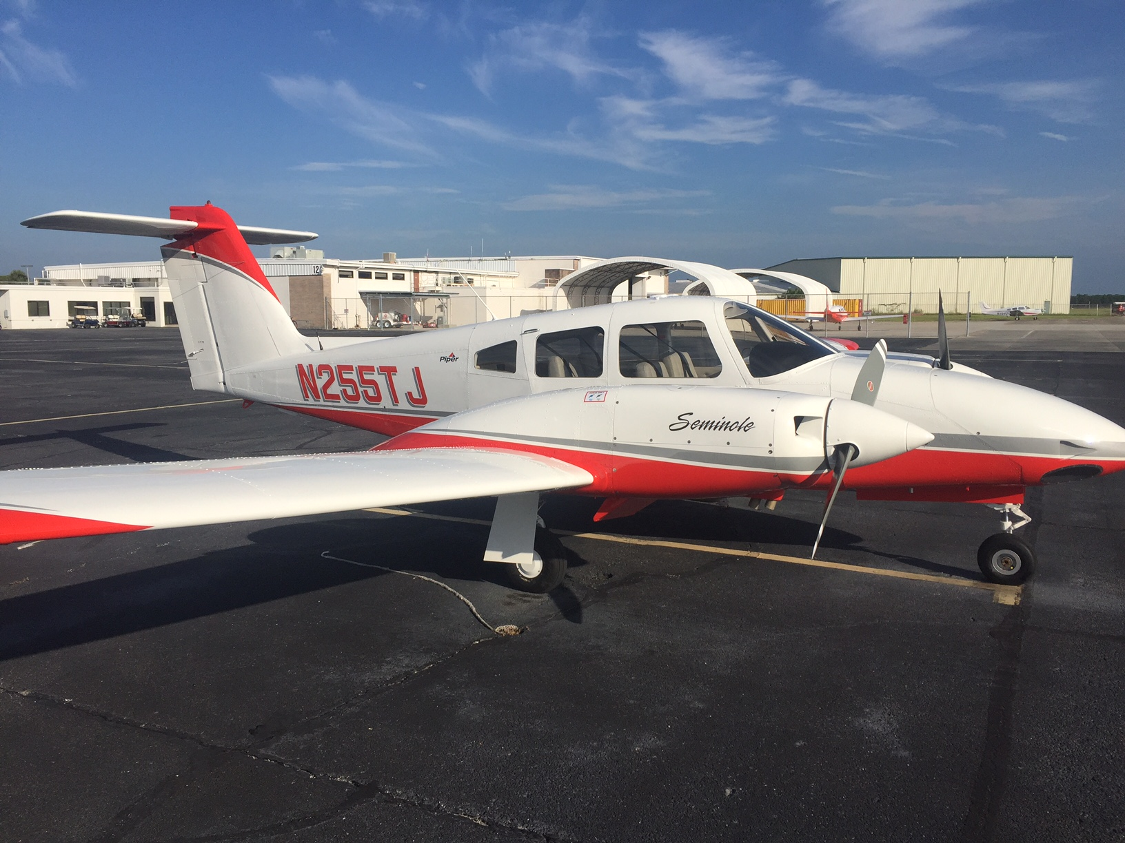 Aircraft Listing - Seminole PA-44-180 listed for sale