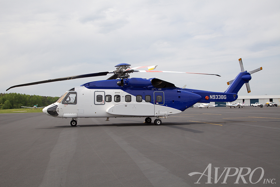 Aircraft Listing - Sikorsky S-92 listed for sale