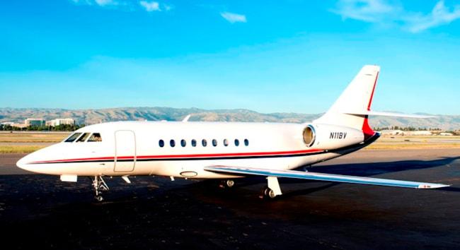 Private jet for sale charter: 1995 Dassault Falcon 2000 heavy jet