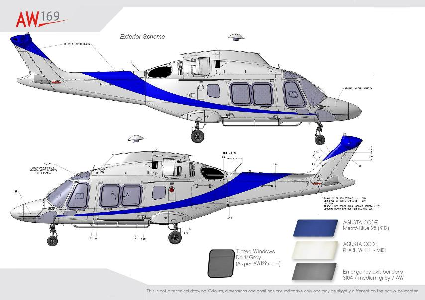 Aircraft Listing - Agusta AW169 listed for sale