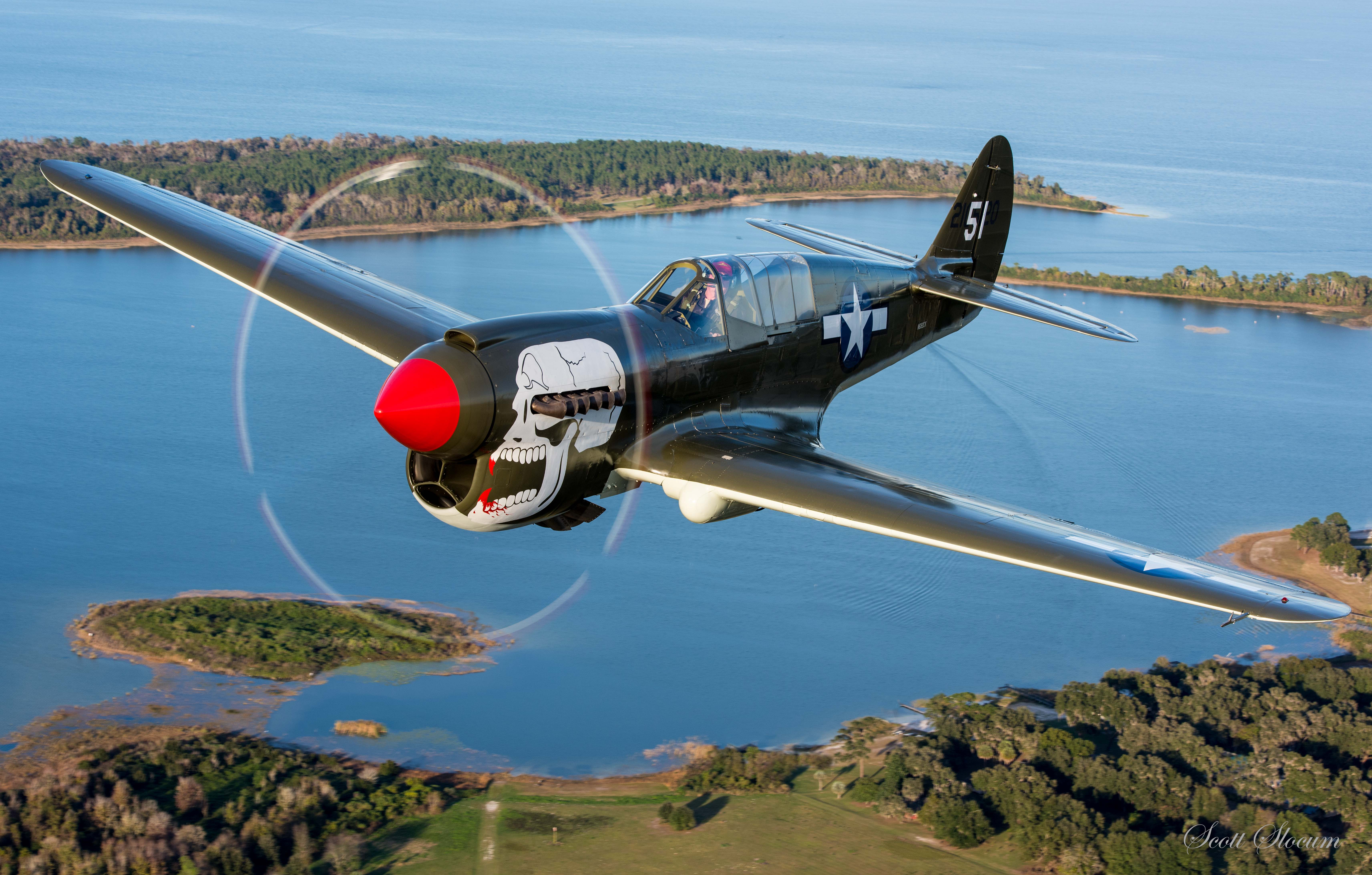 Aircraft Listing - Warhawk P-40 listed for sale