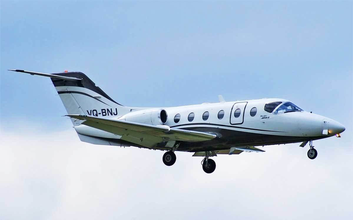 Aircraft Listing - Hawker 400A listed for sale
