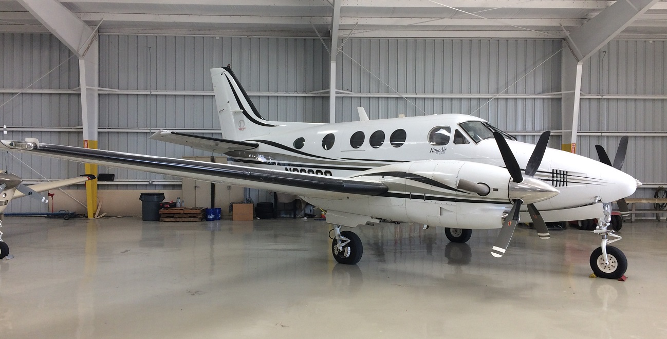Aircraft Listing - King Air C90B listed for sale