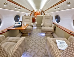 Private jet for sale charter: Gulfstream G550 heavy jet