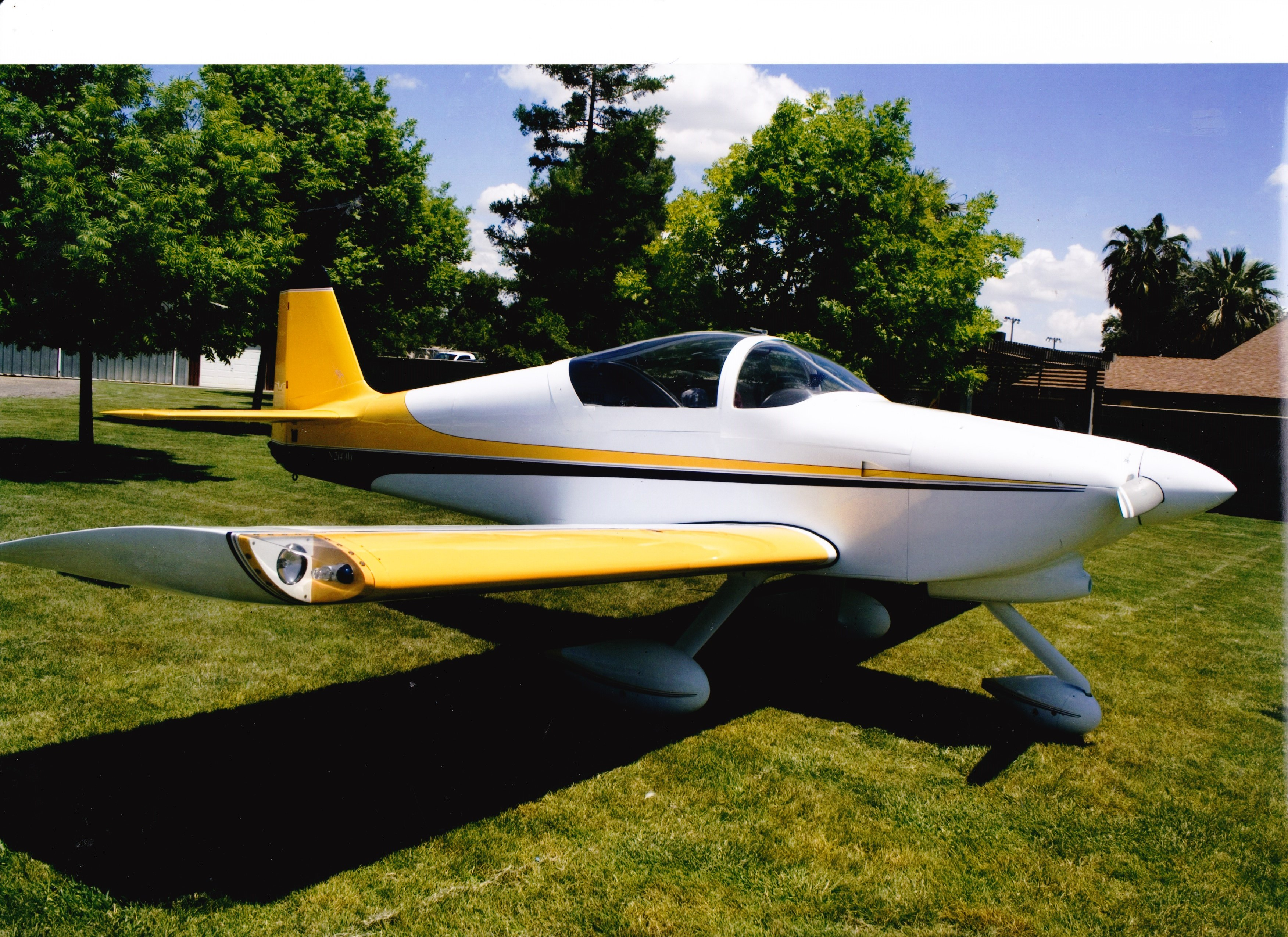 Aircraft Listing - Van RV-6A listed for sale