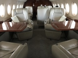 Private jet for sale charter: 2007 Dassault Falcon 2000LX heavy jet