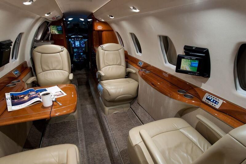 Citation X interior
