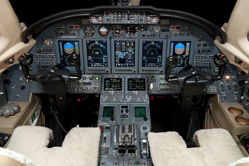 Citation X panel