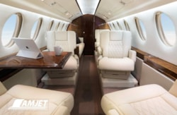 Private jet for sale charter: 1985 Dassault Falcon 50  supermid jet