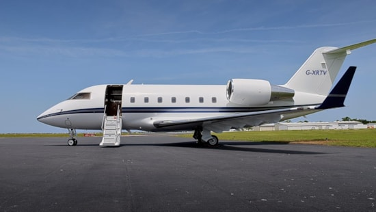 Private jet for sale charter: 1991 Bombardier Challenger 601-1A/ER heavy jet