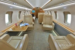 Private jet for sale charter: 2010 Bombardier Challenger 605 heavy jet