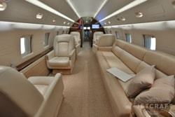 Private jet for sale charter: 1997 Bombardier Challenger 604 heavy jet
