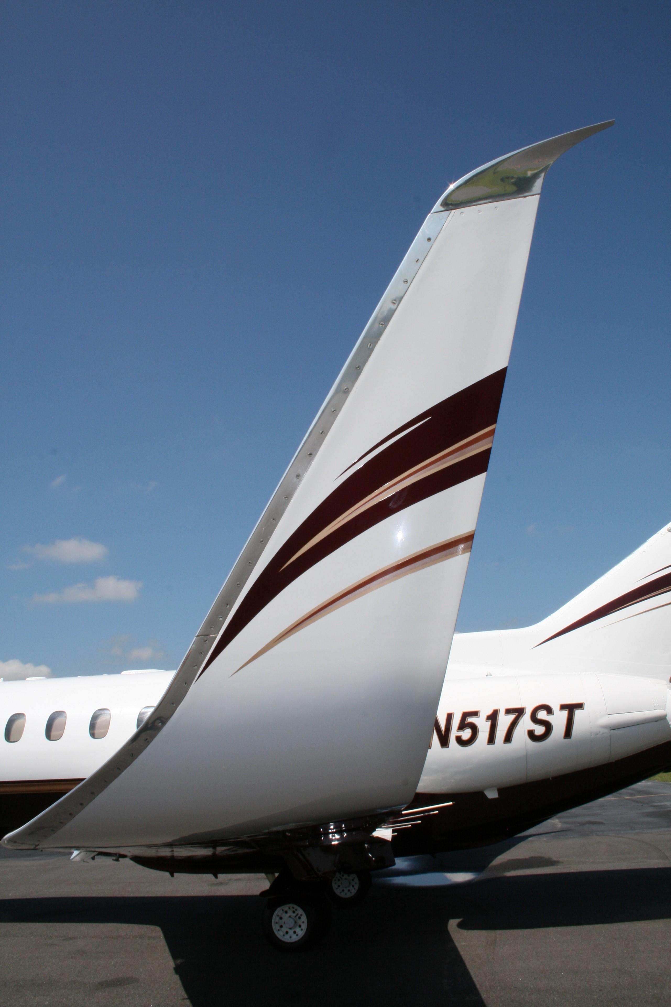 Hawker 800SP exterior
