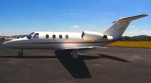 Citation Jet 525 exterior