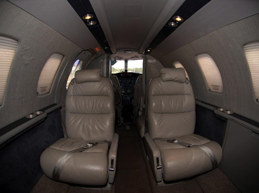 Citation Jet 525 interior