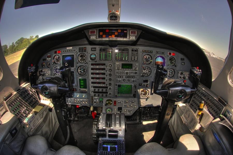 Citation Jet 525 panel