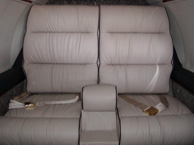 Learjet 24XR interior