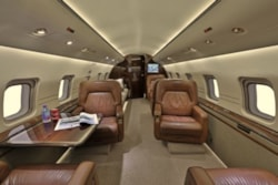Private jet for sale charter: 2007 Bombardier Challenger 604 heavy jet