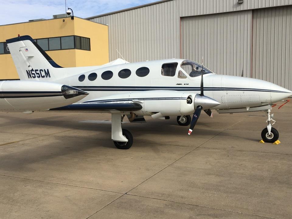 Cessna 414 exterior