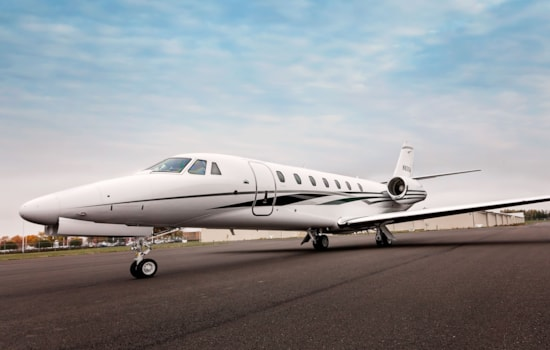 Private jet for sale charter: 2012 Cessna Citation Sovereign super-midsize jet