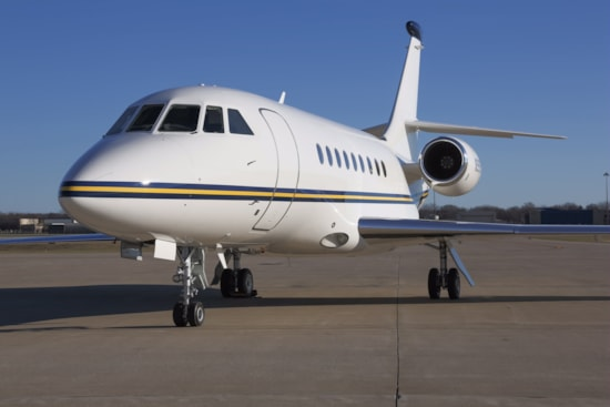 Private jet for sale charter: 2002 Dassault Falcon 2000 heavy jet